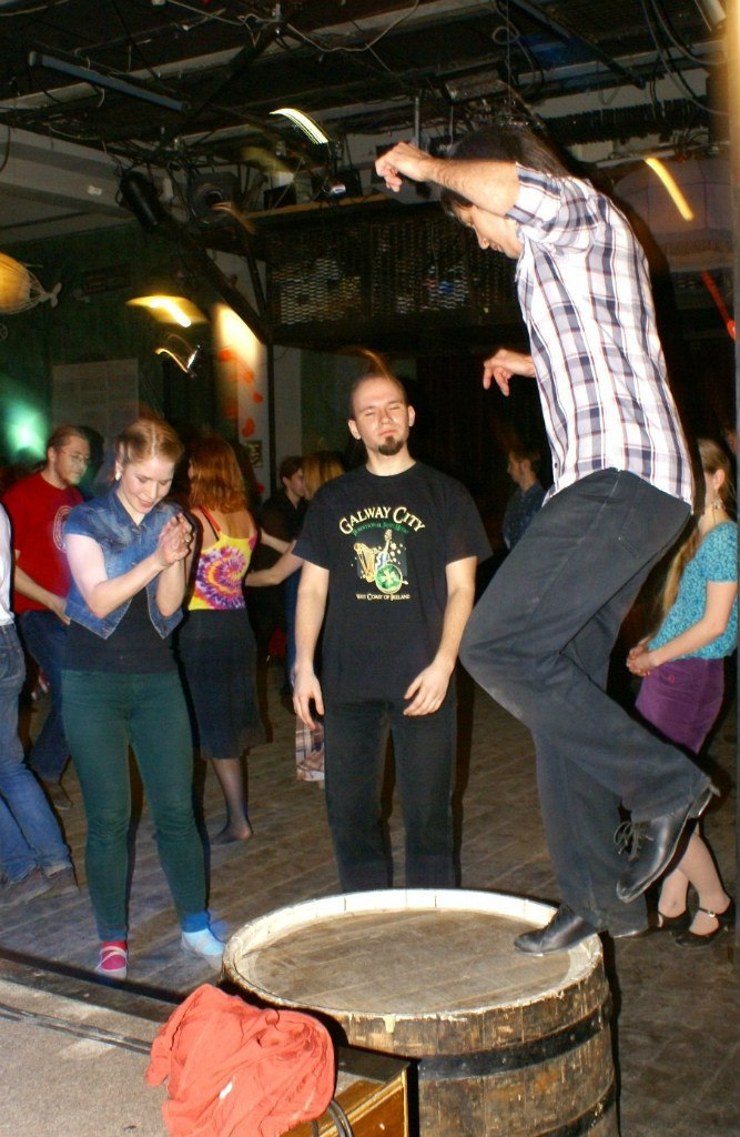 Ирландская вечеринка с Lacuna Ceglidh Band