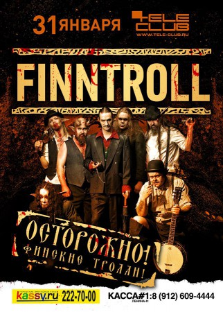 Finntroll @ Tele Club
