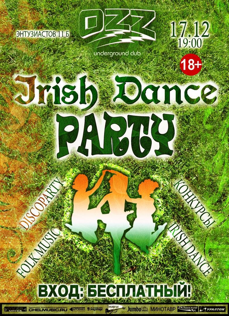 Irish Dance party @ OZZ